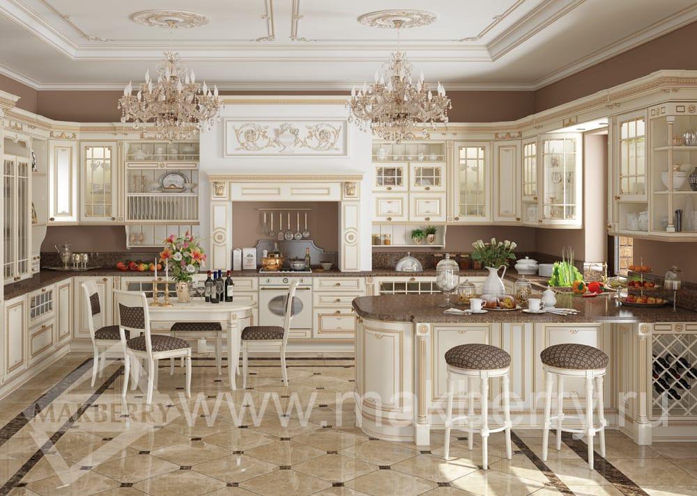 Кухня «Афина оро»