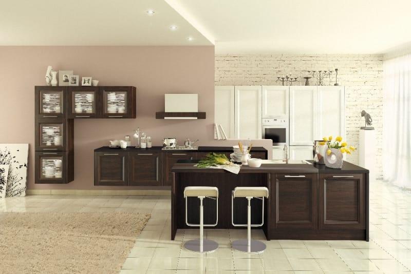 Кухня «Альба Венге»