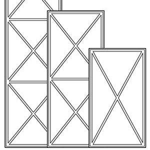 Решётки тип Х (ш.447)