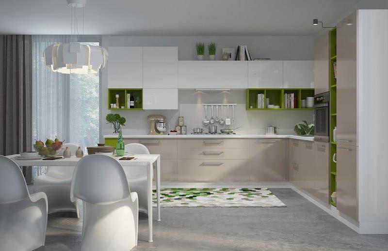 Кухня «Тетрис»
