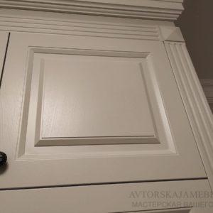 Фасады шпон дуба + эмаль