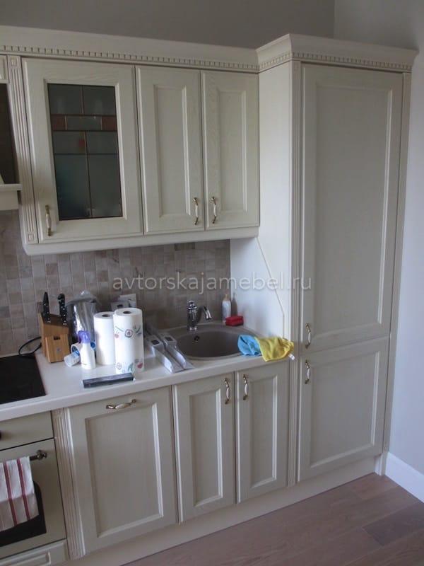 Кухня прованс в цвете «слоновая кость»